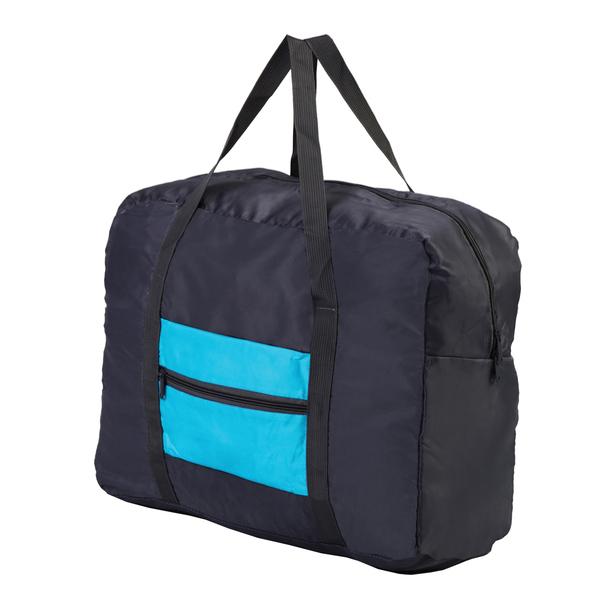 Benton foldable travel bag, blue photo