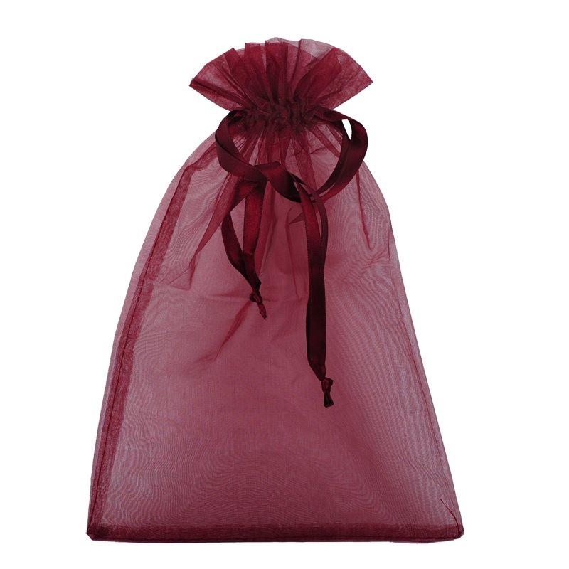 Gift sack, maroon photo