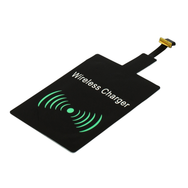 Charge Ready Wireless charging adapter, black photo