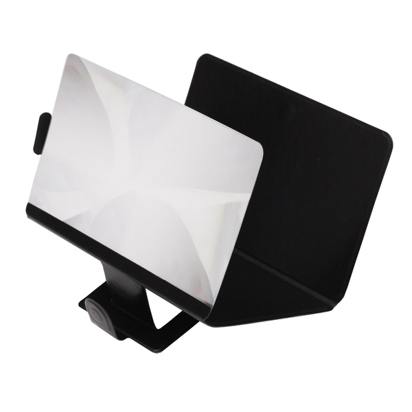 Enlarge mobile phone screen magnifier, black photo